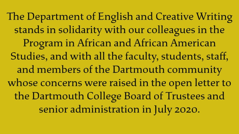On a yellow background, text in the Dartmouth typeface reiterates the first sentence of this article.